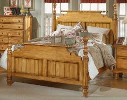 hillsdale wilshire post bed antique pine 1171 postbed