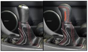reasons to buy the weighted leather shift knob corksport mazda