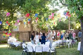 Outdoor Party Decorations by Outdoor Birthday Decorations