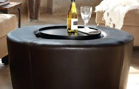 Brown Ottoman Coffee Tables Cool Coffee Table With Ottomans Design Awesome