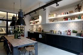 cuisine style industriel loft cuisine style loft