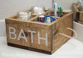 bathroom caddy ideas 5 bathroom storage ideas that are easy and inexpensive