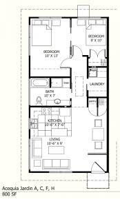 house plan tiny home floor with two small for seniors admirablex28