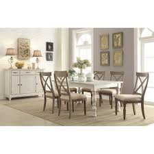 dining room sets with fabric chairs riverside 21250 21358 21358 21358 21358 aberdeen 9 piece rectangle