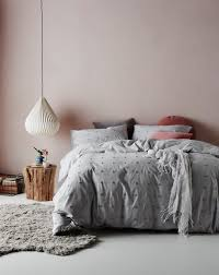 grace quilt cover set in grey shannon fricke