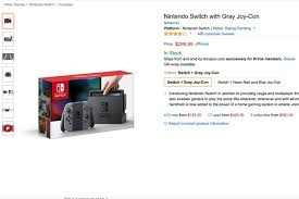 amazon black friday video game schedule amazon is using the nintendo switch as the latest piece of bait