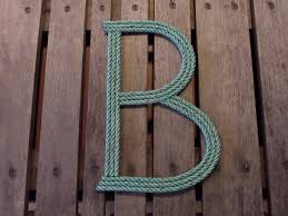 letter s wall decor made to order letter or number 12 inch nautical beach