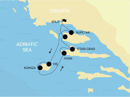 Map Of Croatia And Italy by Yacht Charter Croatia Split Aci Marina Sail Croatia