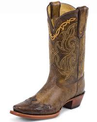 womens size 11 square toe cowboy boots tony lama s 11 tooled square toe boots brown