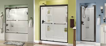 bronze shower doors an overview and guide to this type of shower
