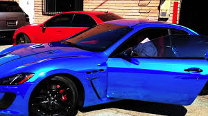 blue maserati project 2013 maserati granturismo mc blue chrome by dbx