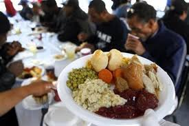 volunteer to serve the homeless a thanksgiving meal with mission u