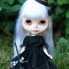 witch dress costume for blythe u0026 pullip dolls black halloween