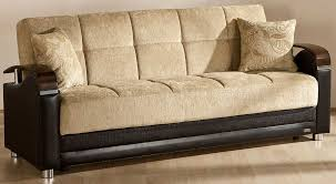 marletto mustard sofa bed by sunset in fabric u0026 leatherette
