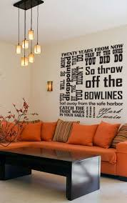 56 best wall art images on pinterest wall decals wall stickers vinyl wall decal catch the tradewinds in your sails quote by mark twain