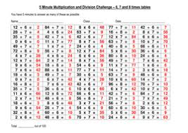 multiplication questions 100 question multiplication division challenge 4 by