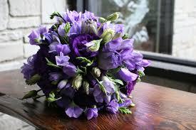 purple bouquets lavender and purple wedding bouquets bb0628 purple lisianthus