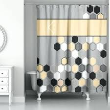 Grey And Yellow Shower Curtains Yellow And Gray Curtains Modern Design Gray Yellow Shower Curtain