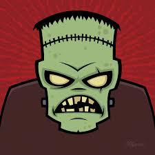 Frankenstein Shower Curtain by Frankenstein Monster Digital Art By John Schwegel