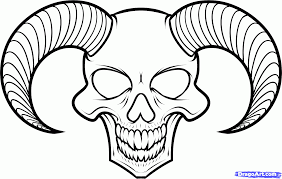 easy drawing of skulls free download clip art free clip art