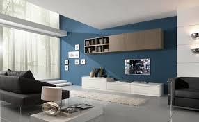 wandfarbe für wohnzimmer wandfarbe taubenblau 21 moderne einrichtugsideen