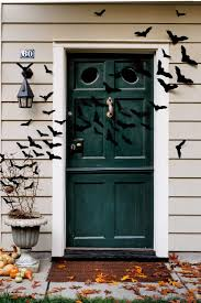 Halloween Wreath Ideas Front Door 35 Best Outdoor Halloween Decoration Ideas Easy Halloween Yard