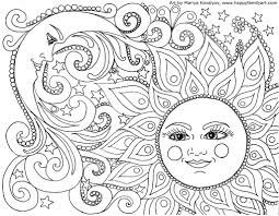 moon and stars coloring pages how to draw a celestial sun and