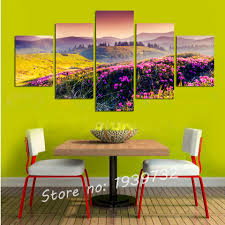 canvas painting for home decoration flowers painting home decoration for wedding wall canvas art 5