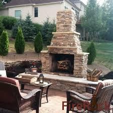 Firerock Masonry Fireplace Kits by Stacked Stone Outdoor Fireplace Best Of Yard Garden U0026 Outdoor
