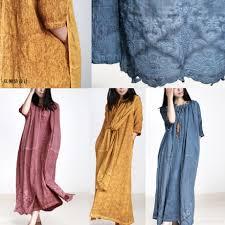 blue paints new fall blue paints linen dresses oversize embroidery pickets