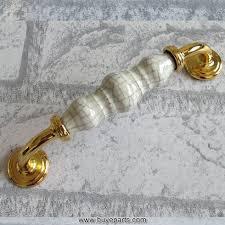 fashion luxury kichen cabinet handles ceramic cupboard pulls