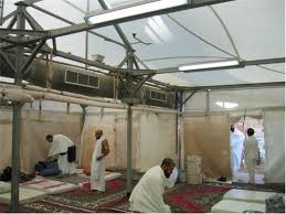 air conditioned tent it s not like saudi arabia has 100 000 tents that could house 3