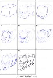 draw bristle bob builder printable step step