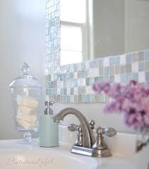 mirror tiles for bathroom diy mosaic tile bathroom mirror centsational style