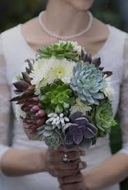 bridal bouquets succulent wedding bouquets centerpieces more succulents