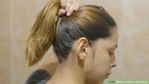 hair buns images 3 ways to make hair buns wikihow