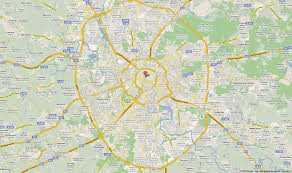 Moscow On Map Map Of Moscow Moscow City Metro And Location Map Moscow Travel Guide