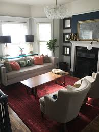living room and dining room together statement or subtlety how to choose the perfect rug megmade