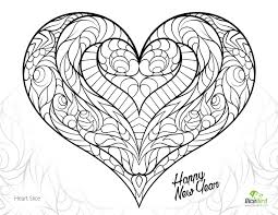 heart slice happy new year drawing dicebird com free