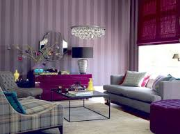 House Interior Wallpaper Decorations Awesome Design Living Room With Beautiful Wallpaper