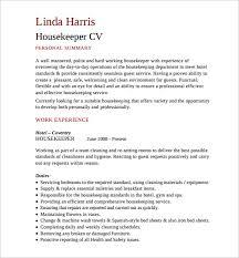 Private Housekeeper Resume Cv Housekeeper Coinfetti Co