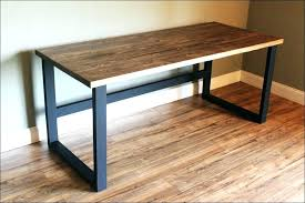 Rustic Wood Office Desk Industrial Computer Desk Industrial Home Office Desk Living Room