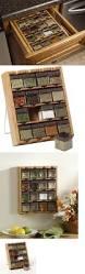 spice jars and racks 20646 spice rack organizer 16 cube jar wall