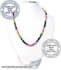 gemstone beaded necklace images Buy stone beads necklaces online in india buy precious stone jpg