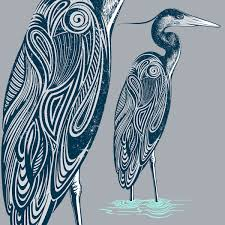 blue heron by rachel caldwell blues u0026 beyond pinterest blue