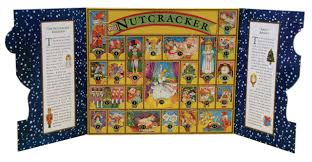 the nutcracker story book set and advent calendar nan