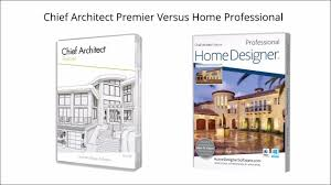 Home Design Pro Free by Chief Architect Premier Versus Home Professional
