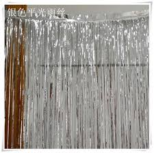 Gold Metallic Curtains 1mx4m Shimmering Gold Metallic Door Curtains Decoration