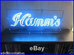 vintage lighted beer signs vintage hamm s neon lighted beer sign excellent condition awesome
