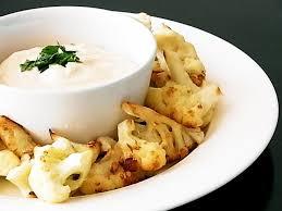 cuisine viking samurai viking cuisine braised cauliflower with tarator sauce